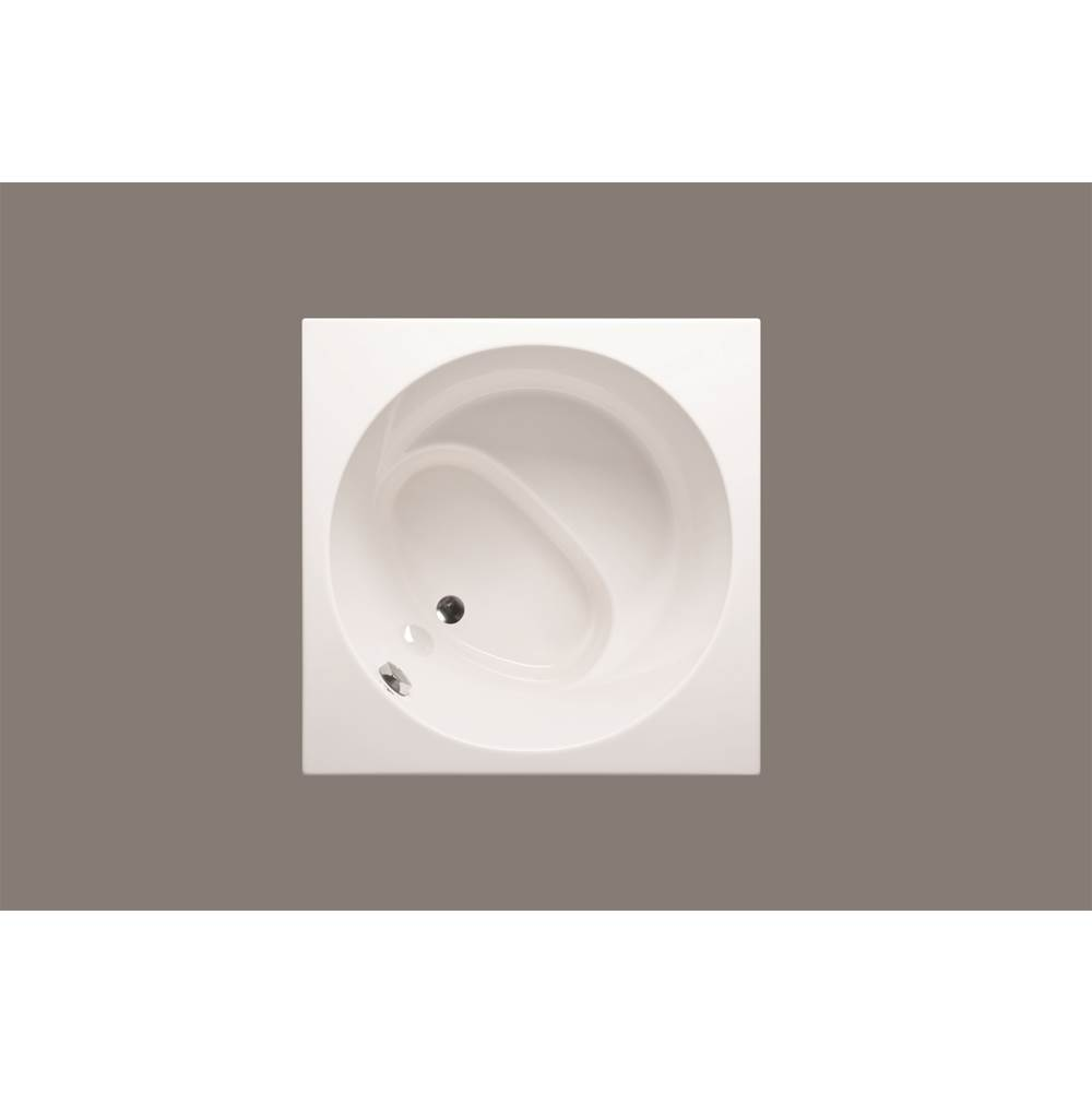 Americh Beverly Round 4242 - Luxury Series / Airbath 2 Combo, Biscuit