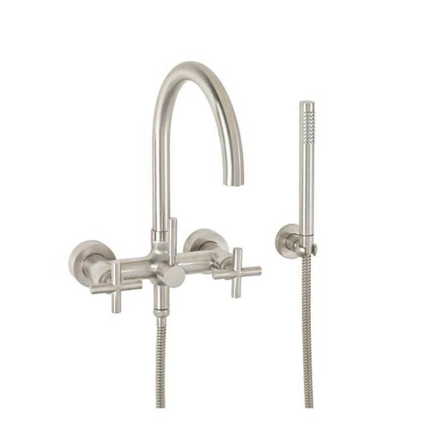 California Faucets Contemporary Wall Mount Tub Filler