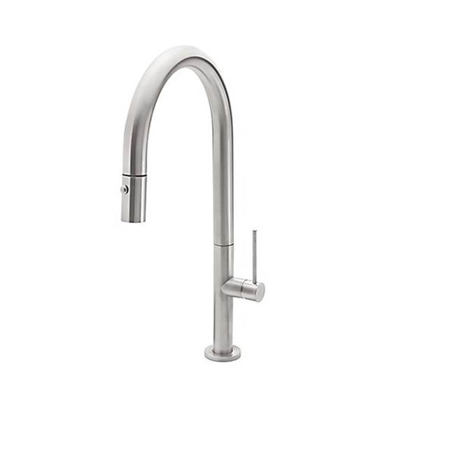 California Faucets Pull-Down Kitchen Faucet - Low Spout