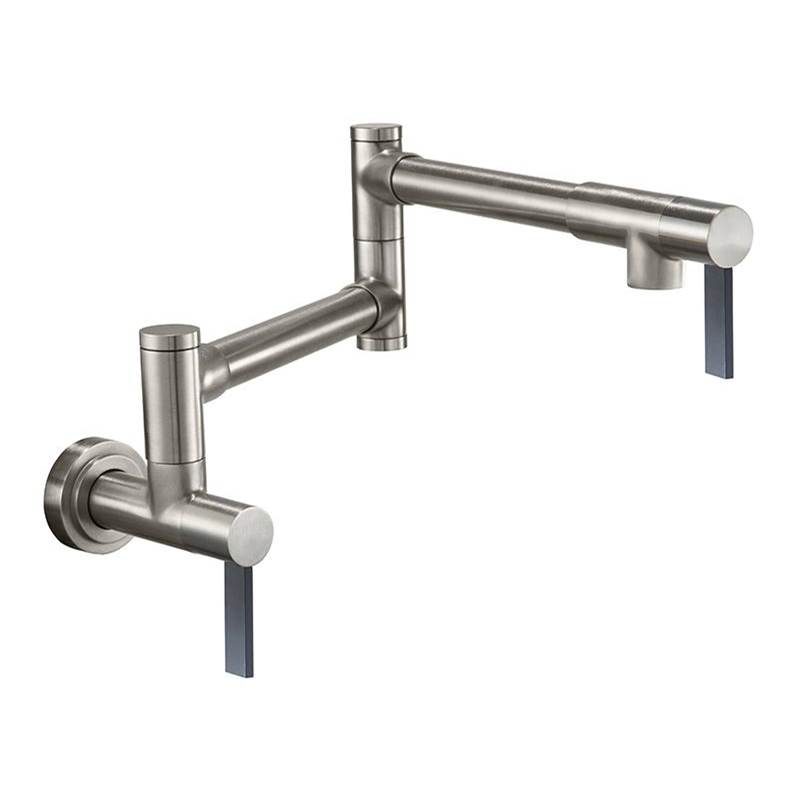 California Faucets Pot Filler - Dual Handle Wall Mount - Contemporary