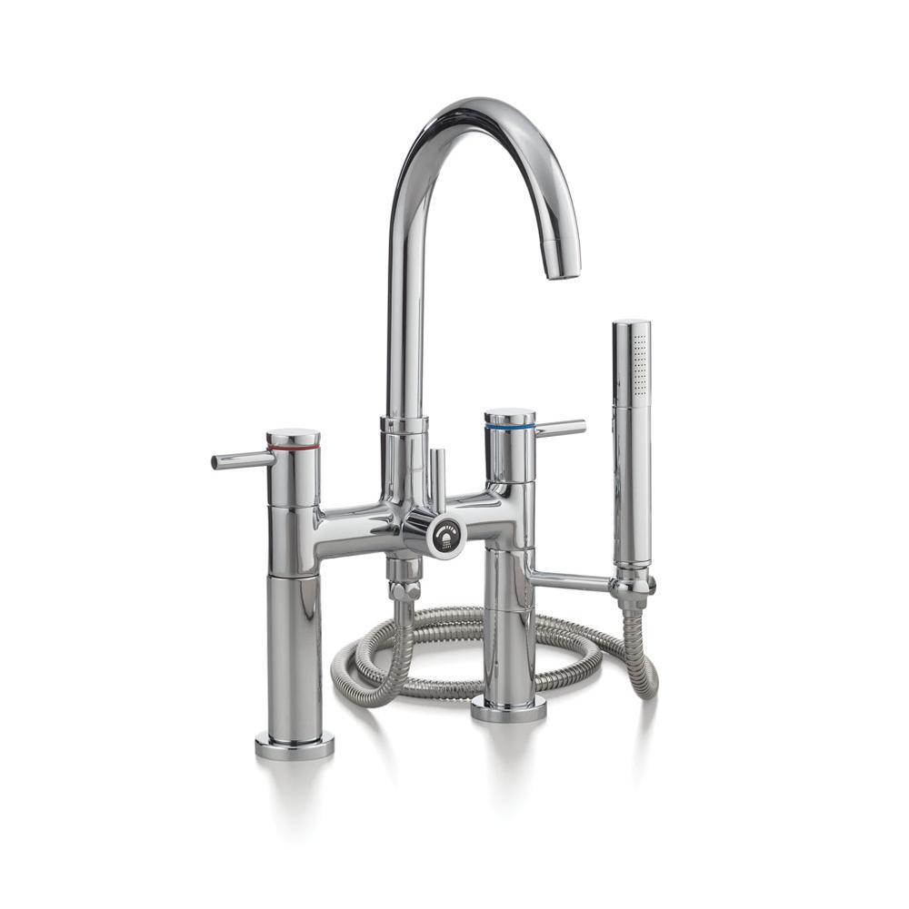 Cheviot Products CONTEMPORARY Deck-Mount Tub Filler