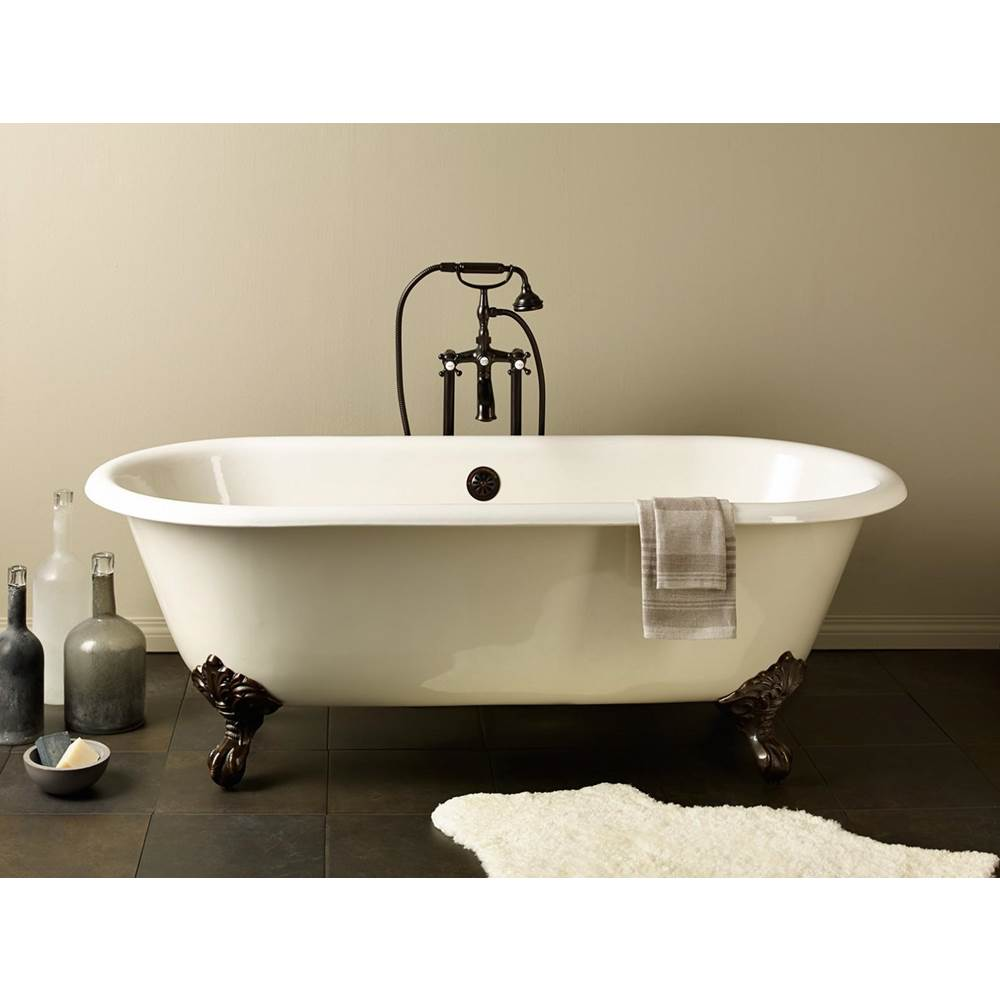 Cheviot Products REGAL Cast Iron Bathtub with Continuous Rolled Rim