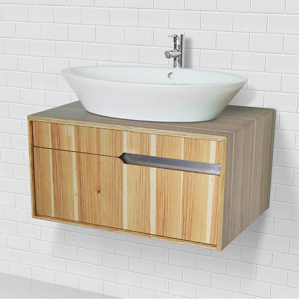 Decolav Wallmount Vanity With Above Counter Lavatory