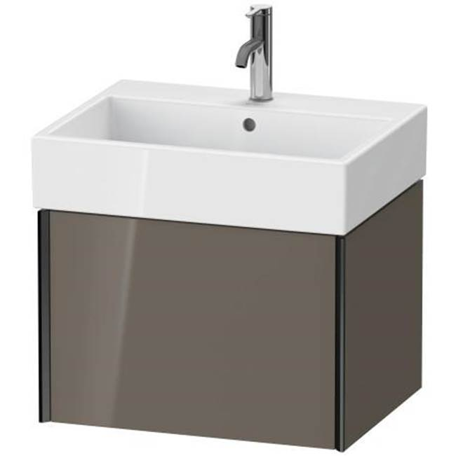 Duravit Duravit XViu Vanity Unit Wall-Mounted  Flannel Gray High Gloss
