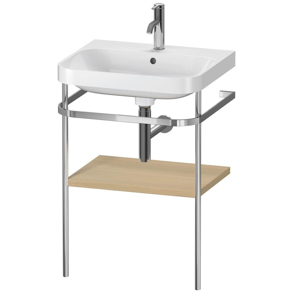 Duravit Duravit Happy D.2 Plus C-Shaped Metal Console  Mediterranean Oak