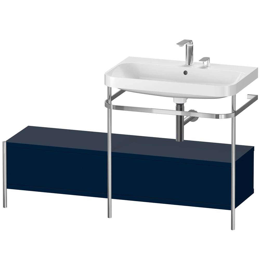 Duravit Duravit Happy D.2 Plus C-Shaped Metal Console  Night Blue Satin Matte