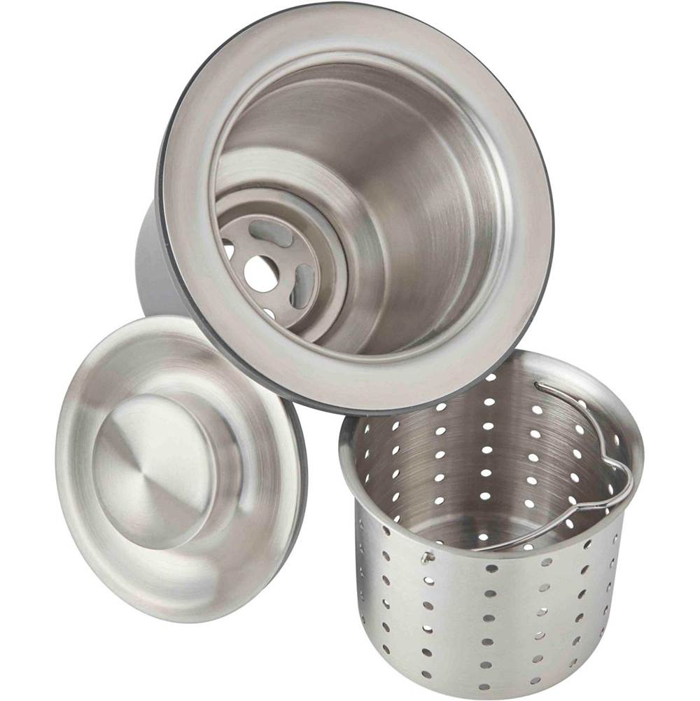 Elkay Elkay 3-1/2'' Drain Fitting, Deep Strainer Basket and Brass tailpiece
