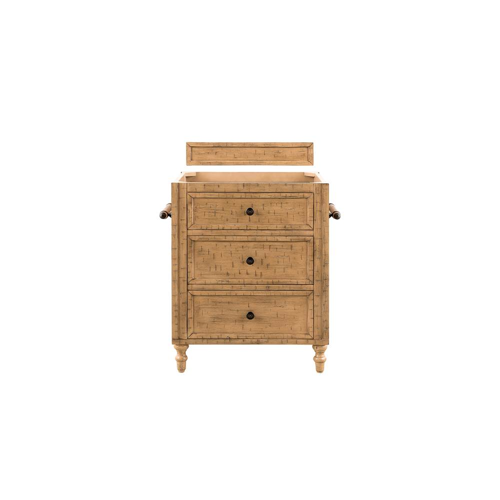 James Martin Furniture Copper Cove 26'' Single Vanity Cabinet, Driftwood Patina