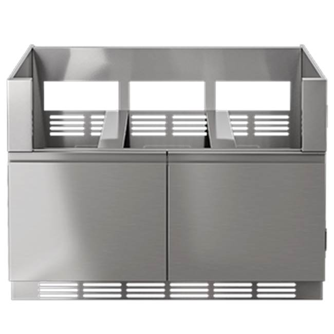 Home Refinements by Julien LINE Grill Base 48in 2Doors