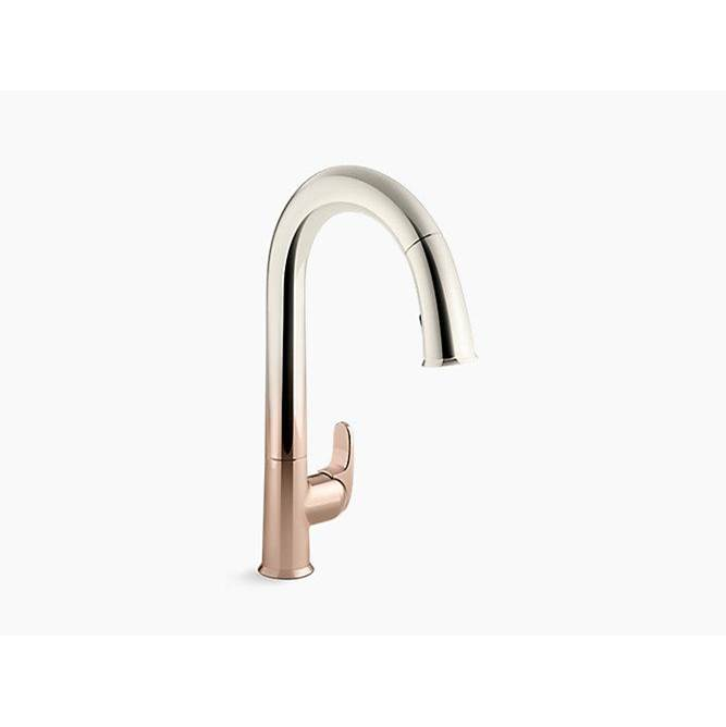 Kohler Sensate™ Touchless Kitchen Faucet With 15-1/2'' Pull-Down Spout, Docknetik Magnetic Docking System And A 2-Function Sprayhead With The New Sweep Spray