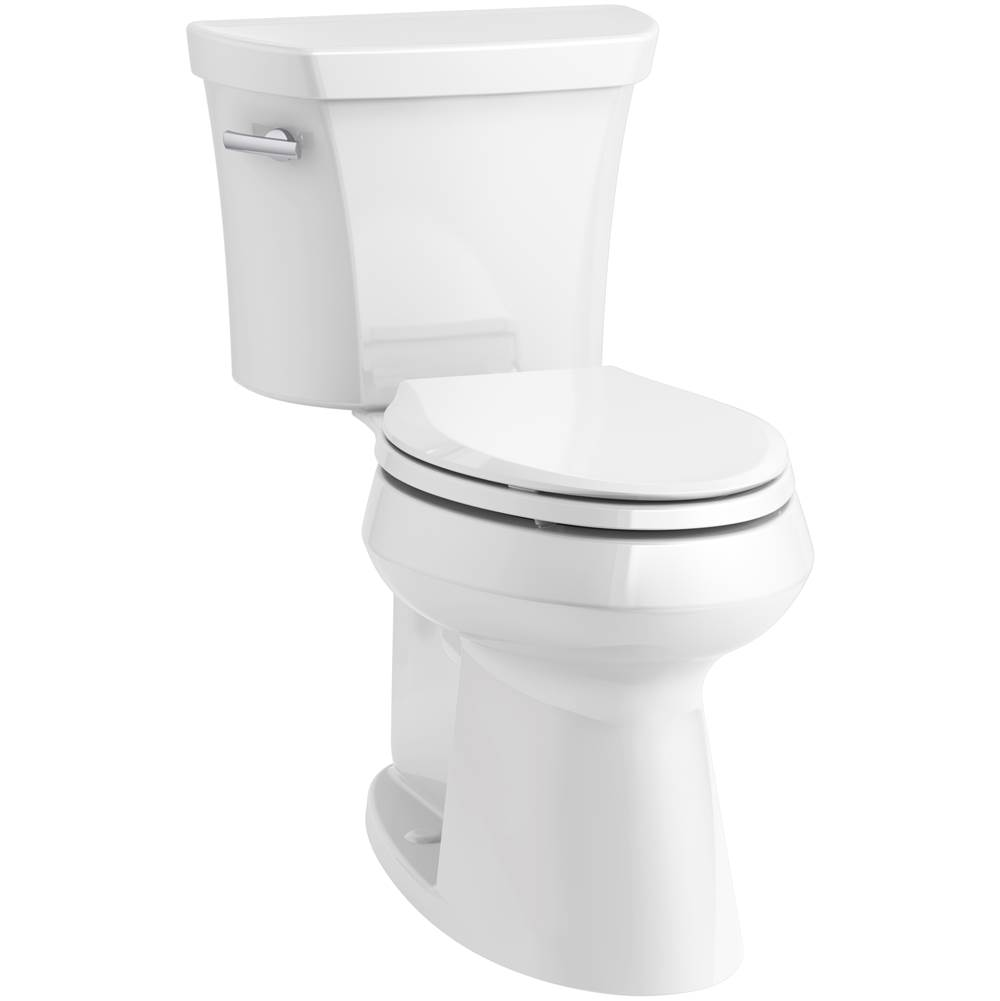 Kohler Highline® Comfort Height® Two-piece elongated 1.28 gpf chair height toilet