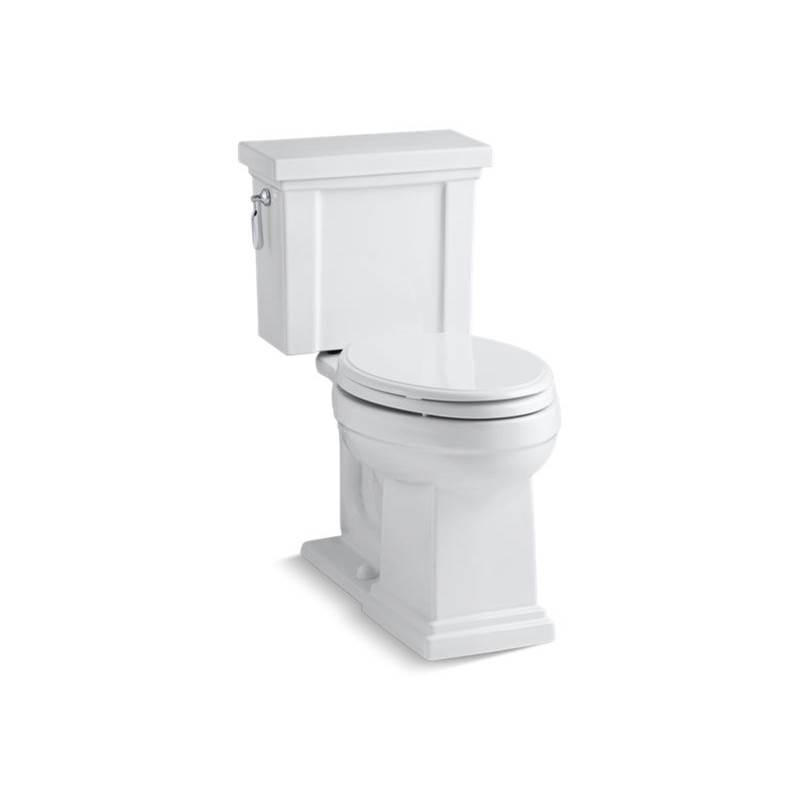 Kohler Tresham® Comfort Height® Two-piece elongated 1.28 gpf chair height toilet