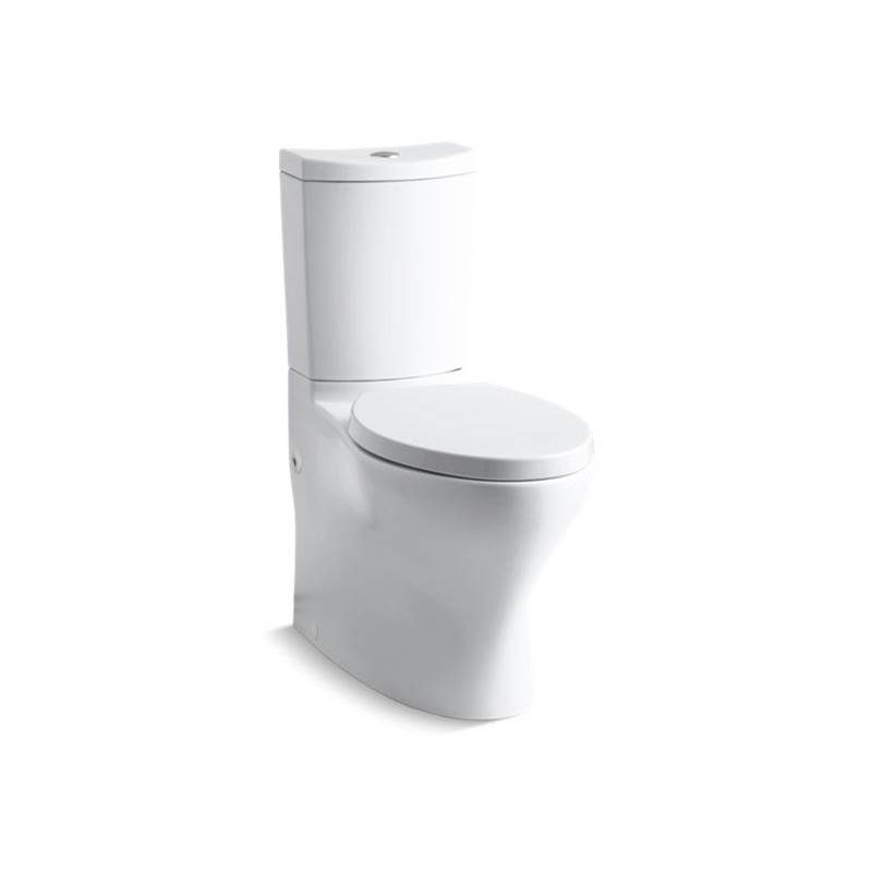 Kohler Persuade® Curv Comfort Height® Two-piece elongated dual-flush chair height toilet