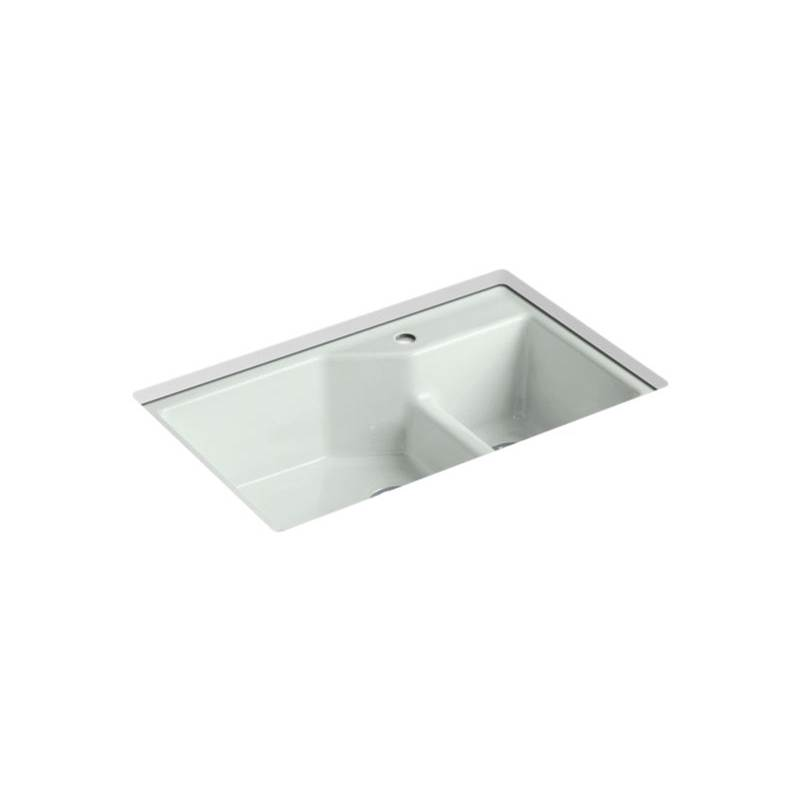 Kohler Indio® Undercounter Offset Sink, 1 Hole