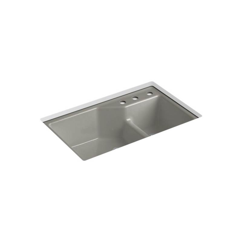 Kohler Indio® Undercounter Offset Sink, 3 Hole