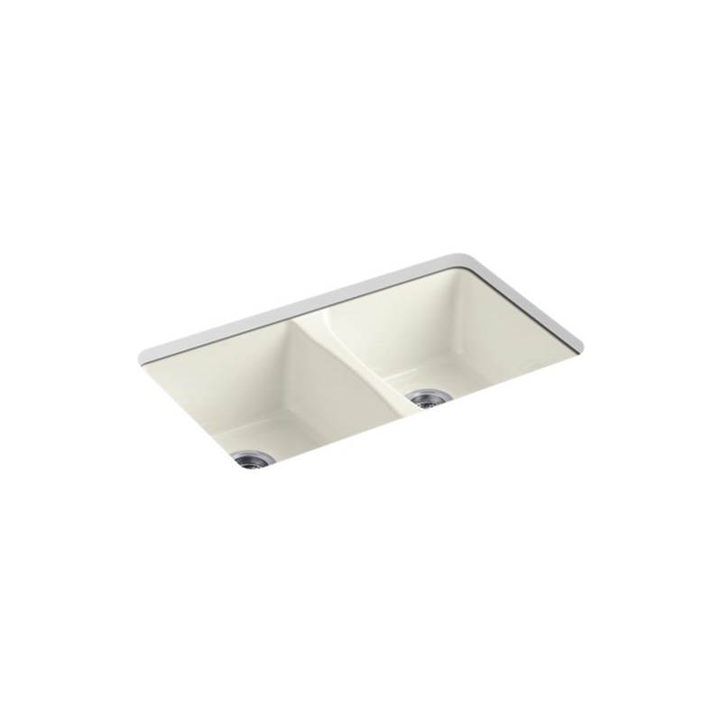Kohler Deerfield® Sink, Double Equal, Uc, 5-H