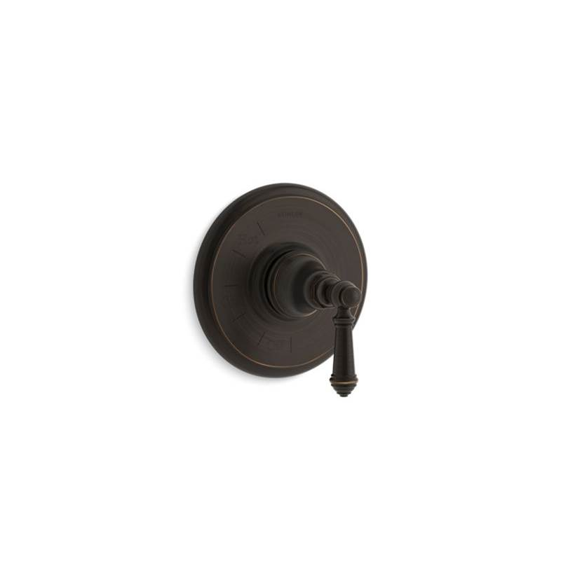 Kohler Artifacts® Rite-Temp(R) valve trim with lever handle
