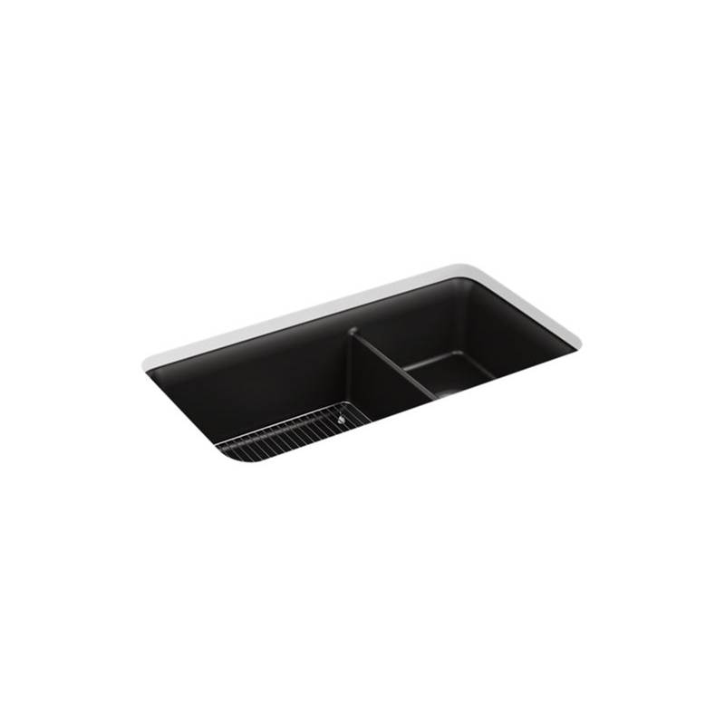 Kohler Cairn™ Undermount Offset Sink W/Rack