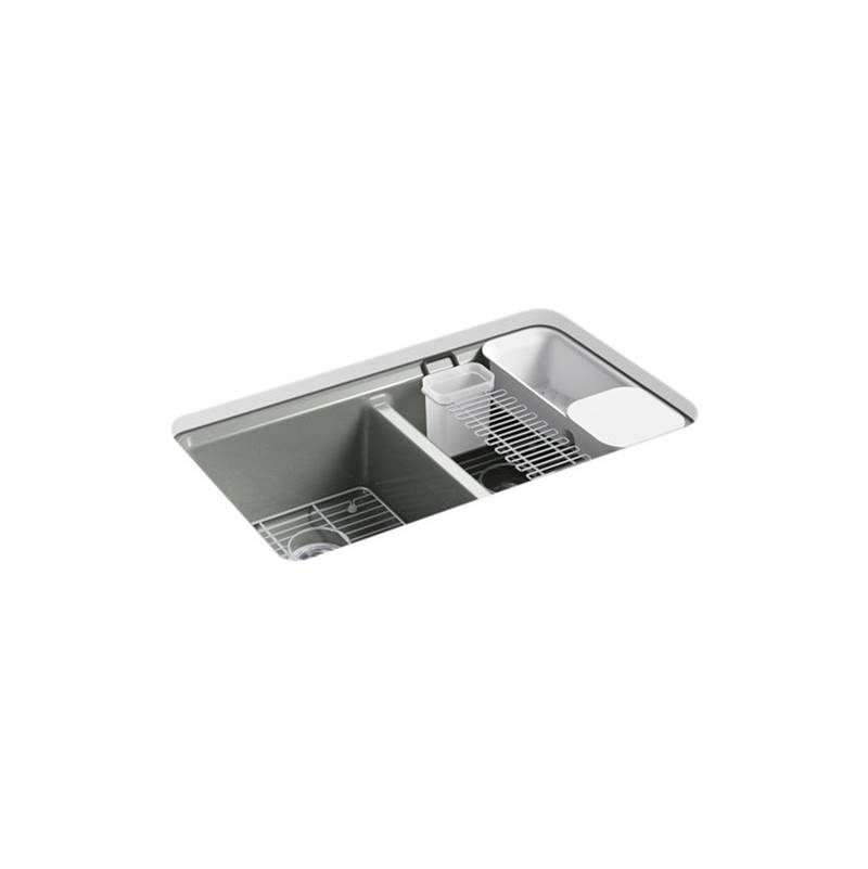 Kohler Riverby® Double Equal Undermount Sink