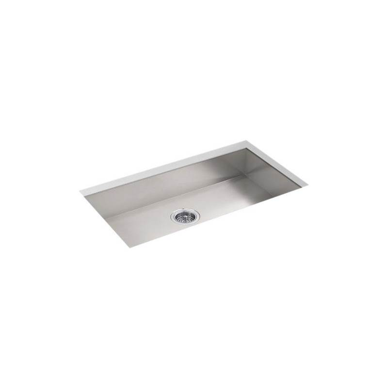 Kohler Vault™ 32'' x 18-5/16'' x 5-7/9'' Undermount large single-bowl kitchen sink with no faucet holes