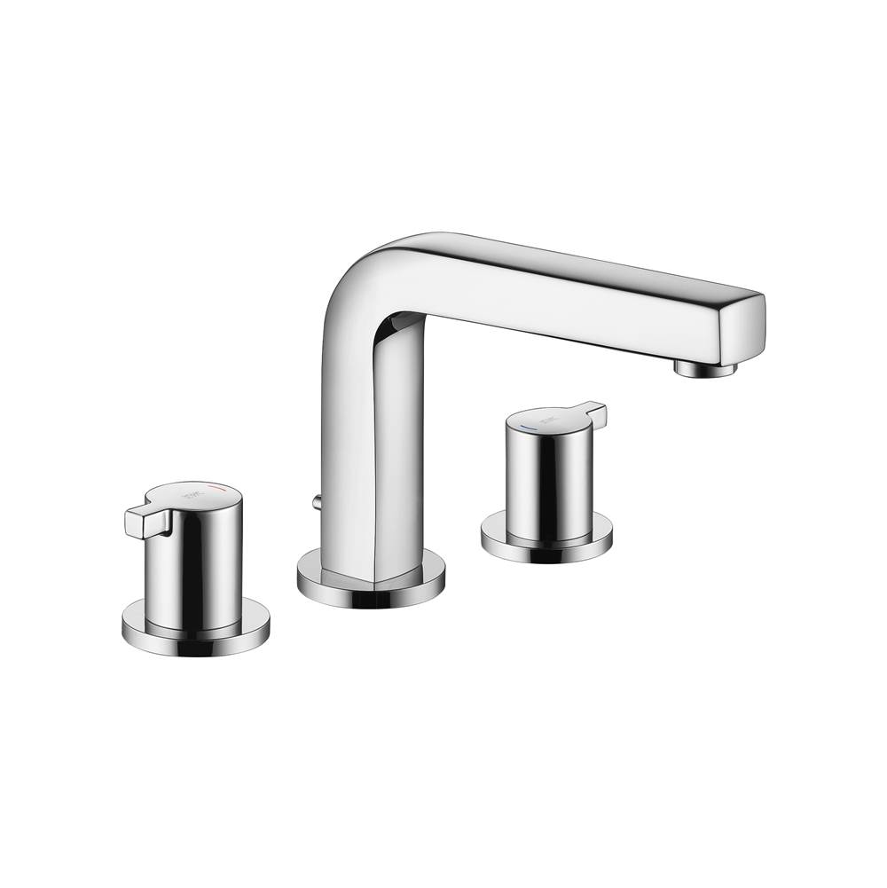 KWC Ava Widespread Lav Faucet 3 Hole W/Pop-Up Chrome