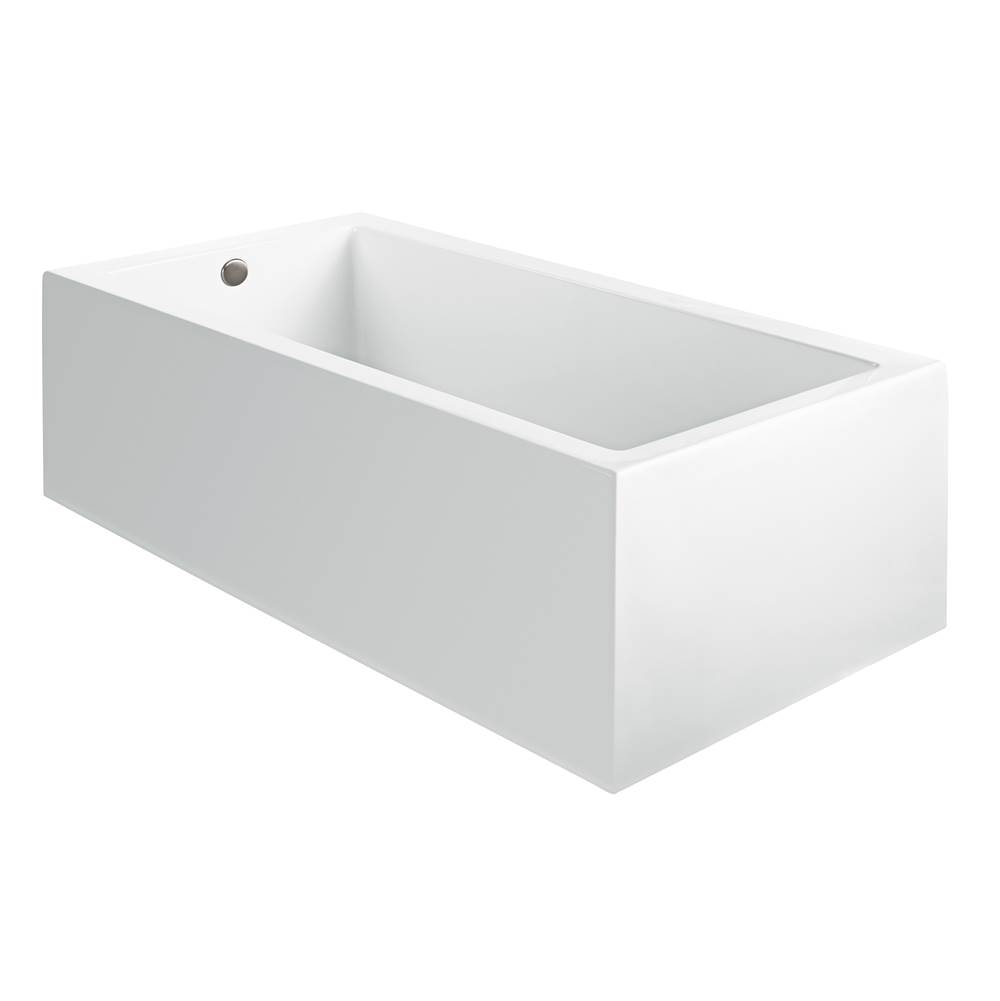 MTI Baths 60X30 SCULPTED 4 SIDES WHITE SOAKER Andrea 105A