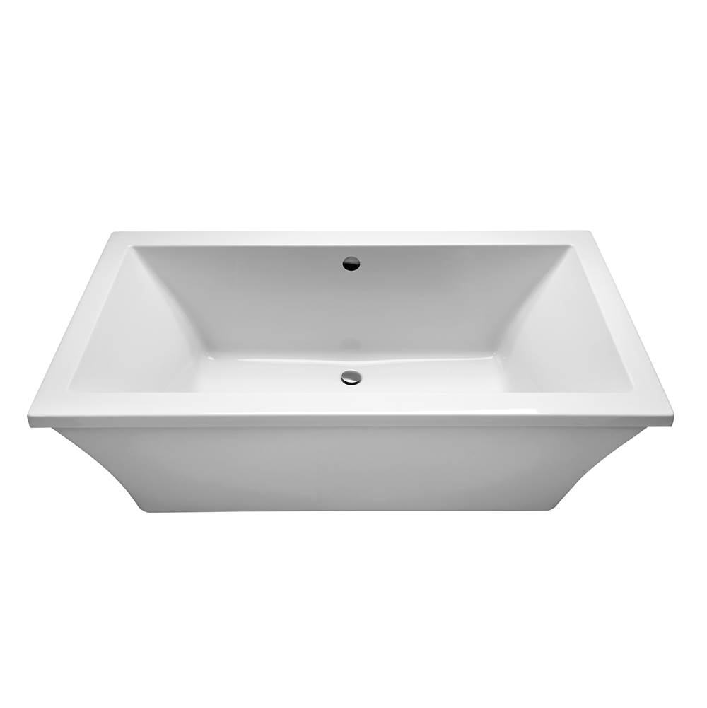 MTI Baths 66X36X23 Biscuit Freestanding Aria Elite Andrea 24