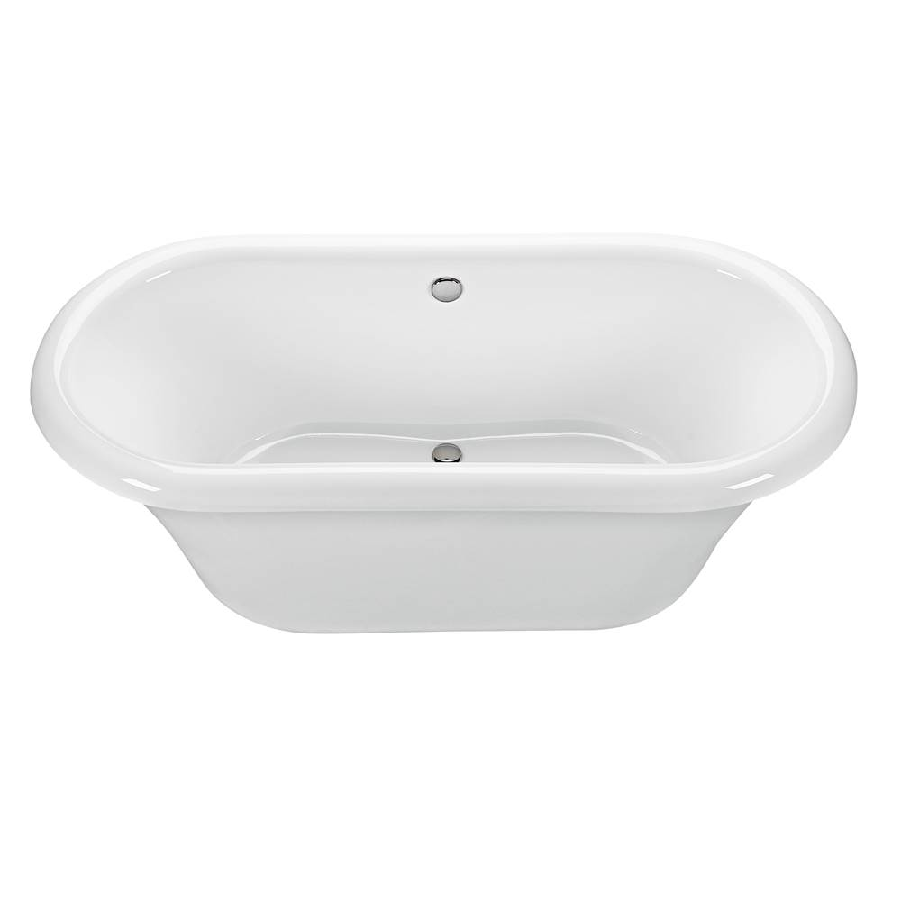 MTI Baths 71X35 BISCUIT FREESTANDING AIR BATH WITHOUT PEDESTAL Melinda 1