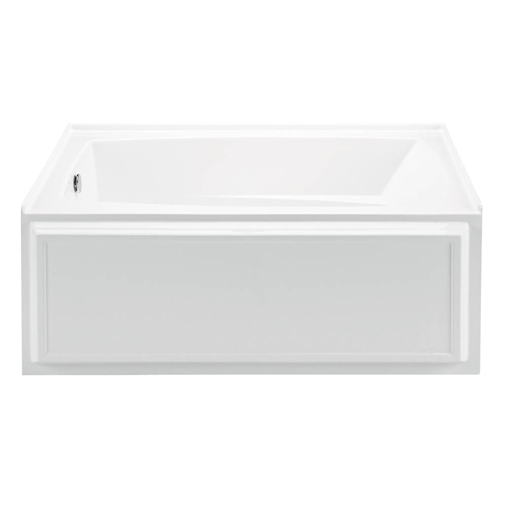 MTI Baths 60X32 ALMOND INTEGRAL SKIRTED ARIA ELITE Wyndham 5- LEFT HAND DRAIN