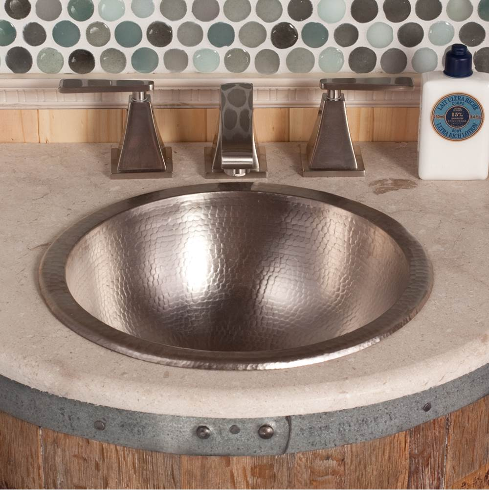 Native Trails Paloma Bathroom Sink in Brushed Nickel