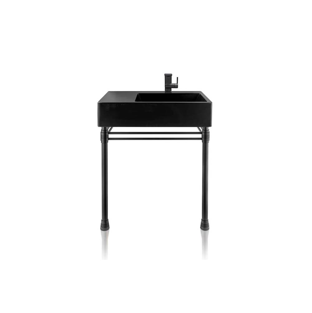 Palmer Industries Avery Vanity Console - 2 Leg Configuration