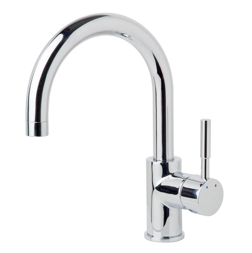 Symmons Dia Single-Handle Single Hole Bar Faucet in Polished Chrome (1.0 GPM)