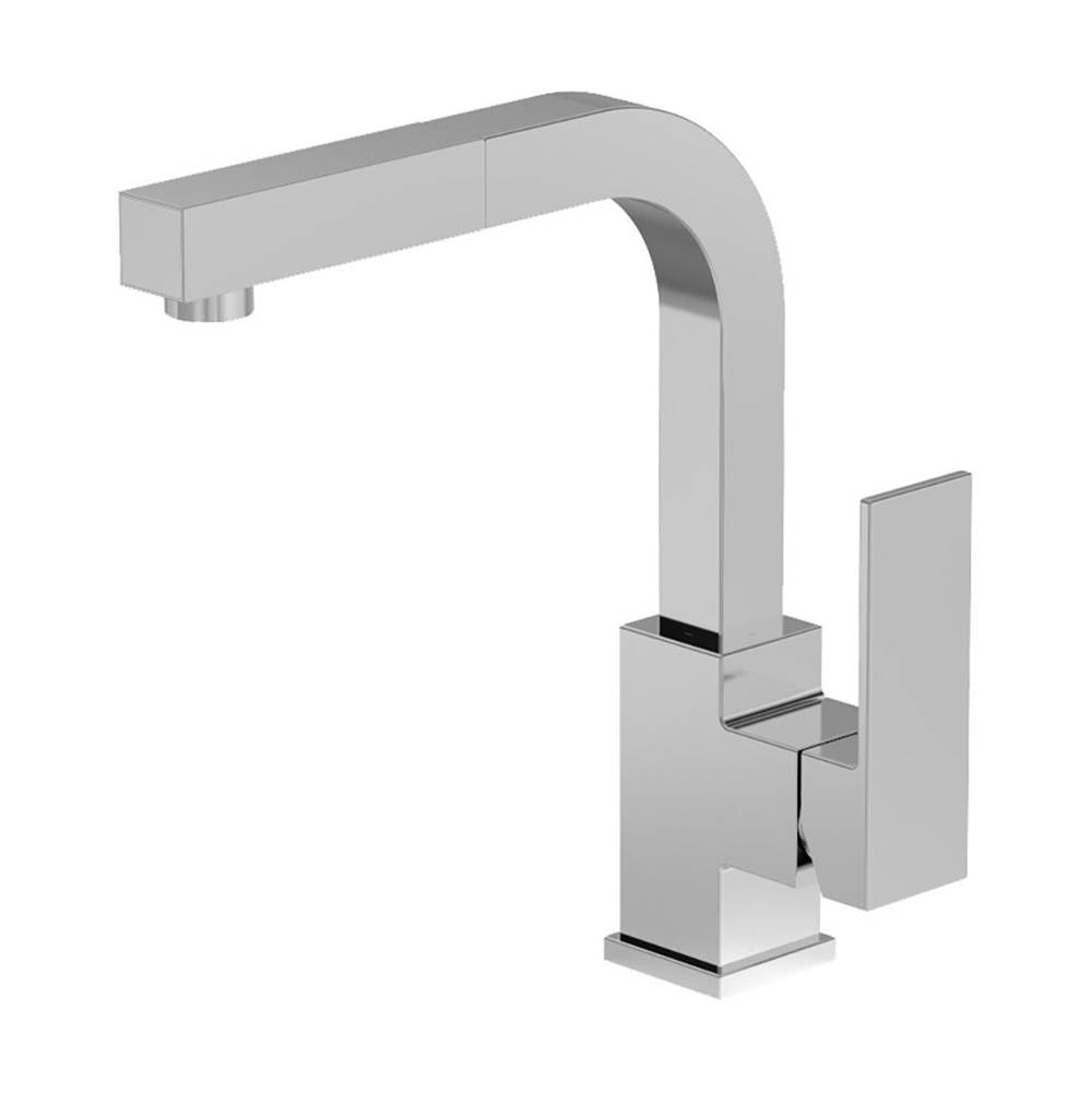 Symmons Duro Single-Handle Pull-Out Kitchen Faucet in Polished Chrome (2.2 GPM)