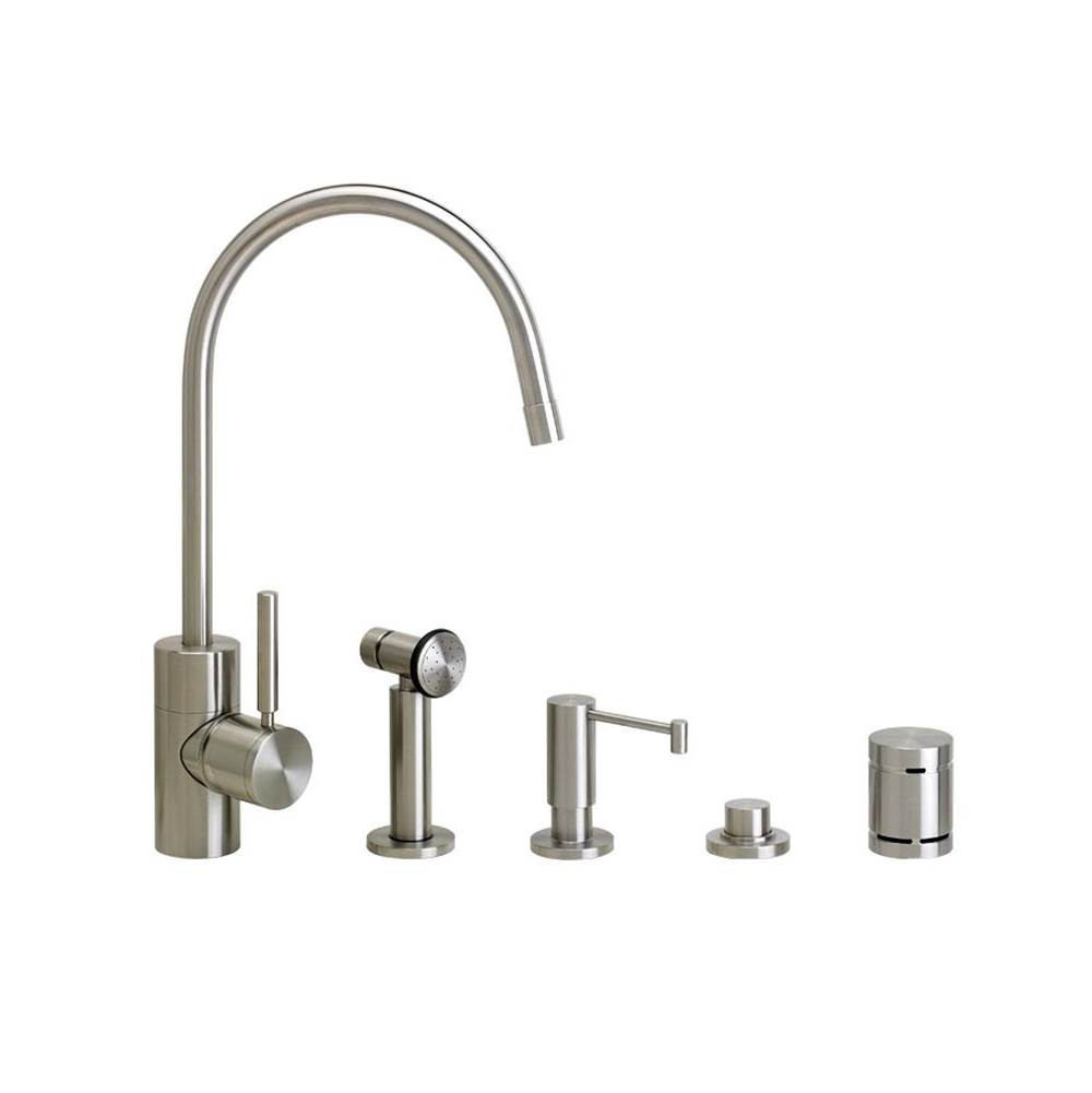 Waterstone Parche Kitchen Faucet - 4Pc. Suite