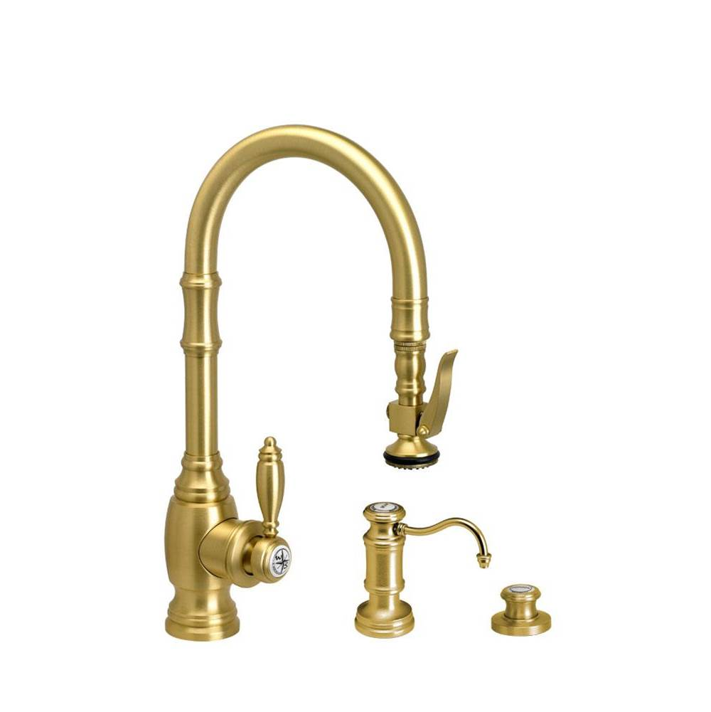 Waterstone Traditional Prep Size Plp Pulldown Faucet - 3Pc. Suite