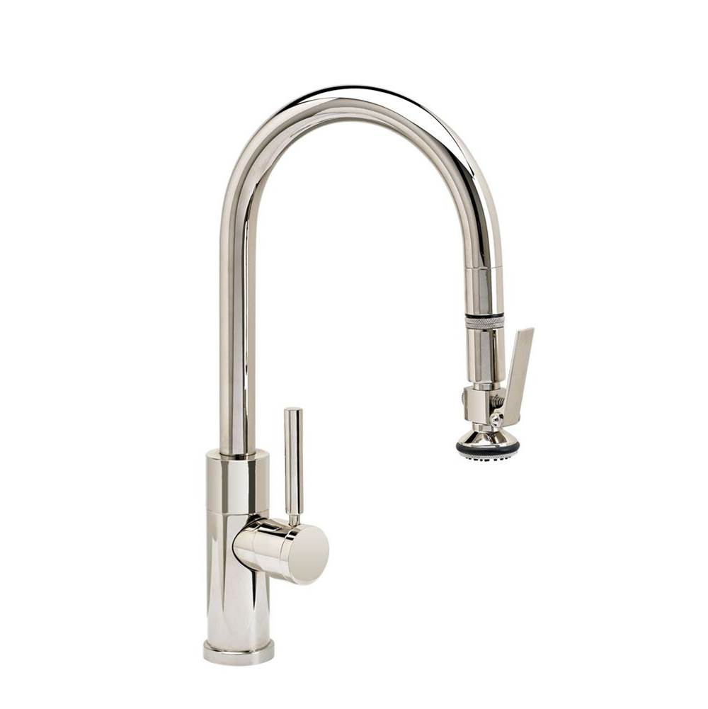 Waterstone Modern Prep Size Plp Pulldown Faucet - Lever Sprayer